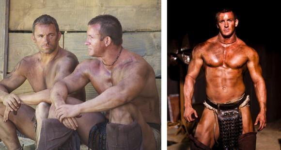 Gay gladiators video blowjob