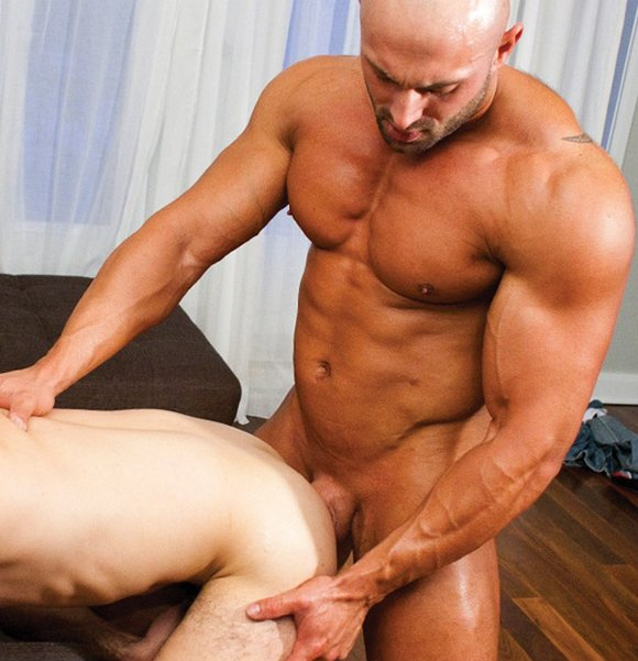 Gay bodybuilders anal sex