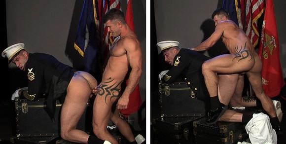 Men In Uniform Fucking
