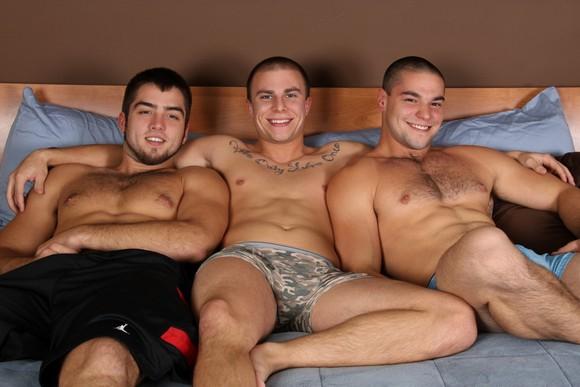 All Guy Gay Threesome