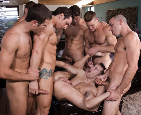 Gay orgy london