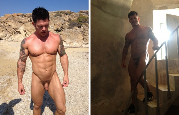 from Adrian nude male rock star