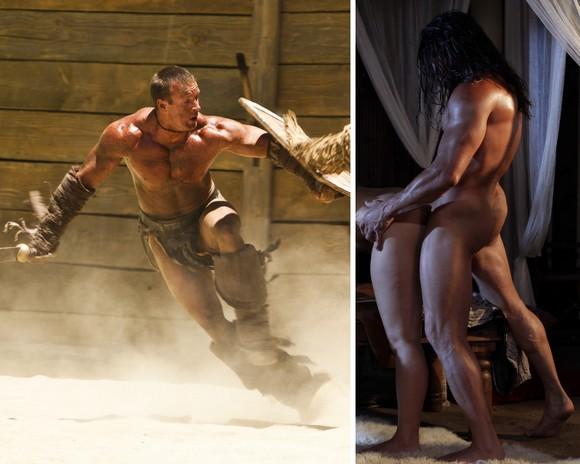 Spartacus homofil sex scener