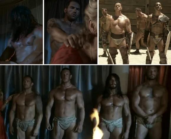 Naked Men Of Spartacus