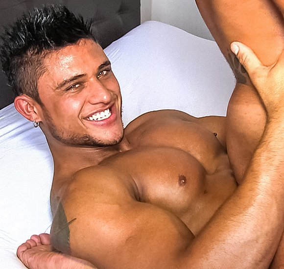 Muscular latino naked gay