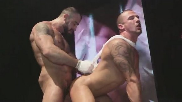 Gay sex show video