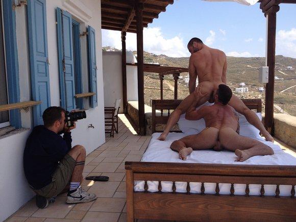 behind the scenes gay porn