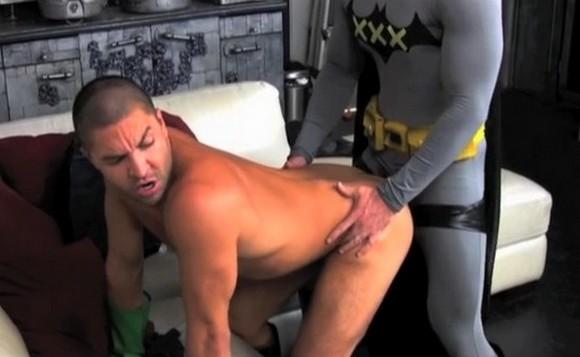 Batman and robin spoof porno