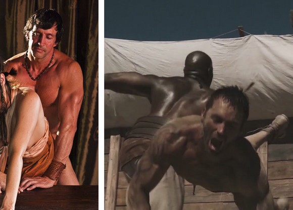 Remarkable, Male porn stars in spartacus sorry, that