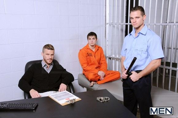 Gay prison shower