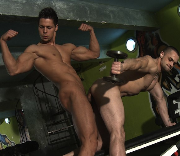 Bareback sex rado and jakub part 1