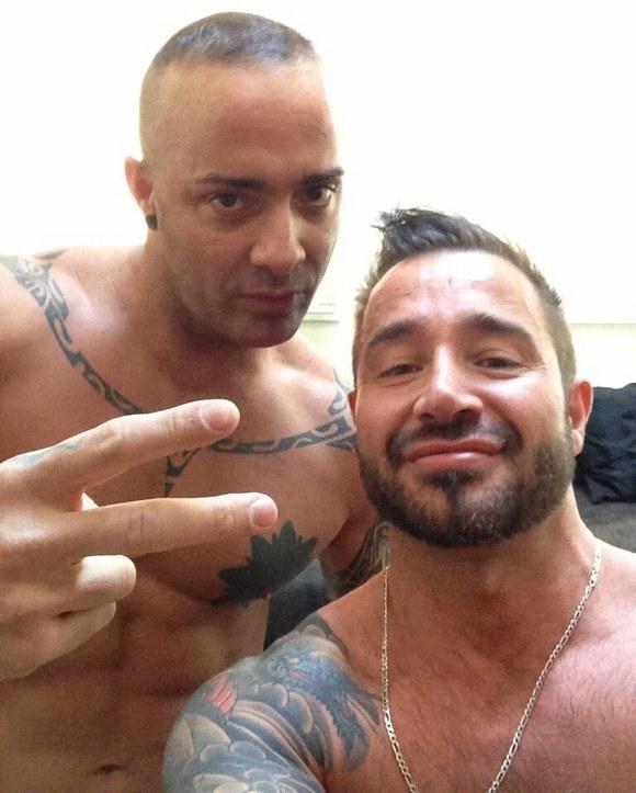 Peliculas porno dinio garcia Rafa Garcia And Antonio Aguilera Two Latest Straight Porn Stars Gone Gay Thanks To Martin Mazza