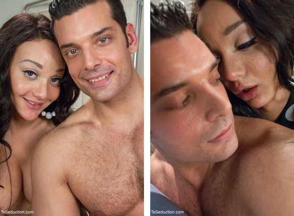 Man Touching Woman Sexy