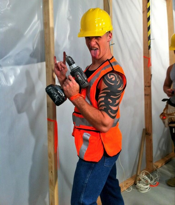 Str8 Married Construction Worker And Famly Man Is Hot