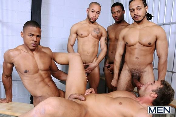 noir gay Gang Bang porno hockey porno gay