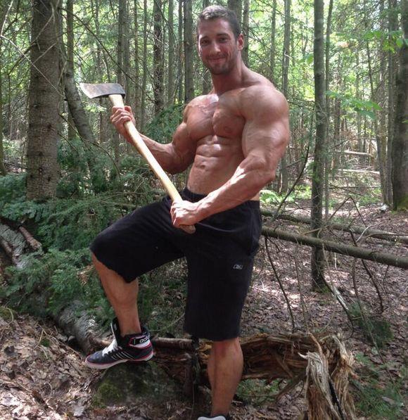 Gay lumberjack porn