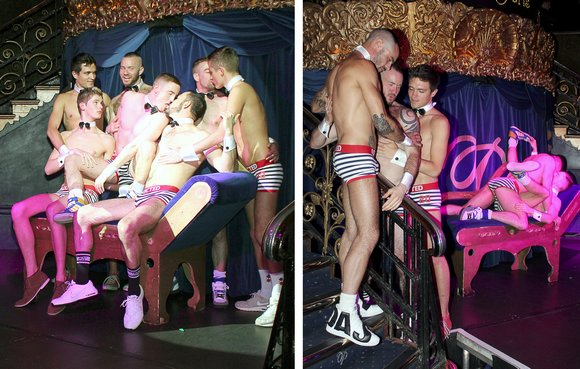 Gay Porn Stars at Eurocreme 10th Birthday Party