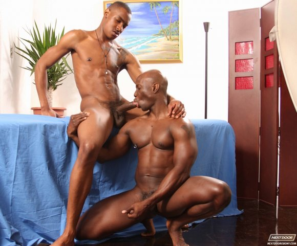 Ebony gay men porn