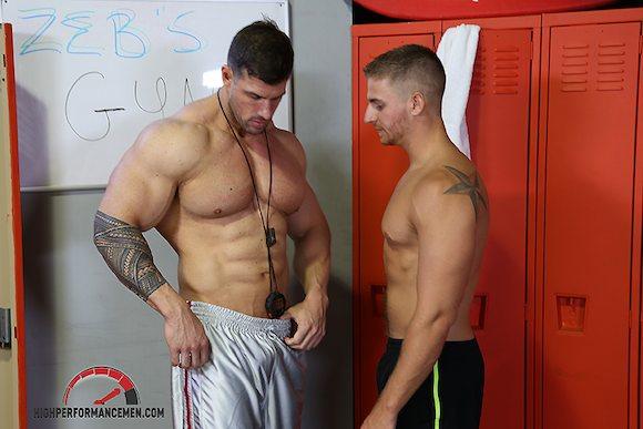 Zeb muscle worship
