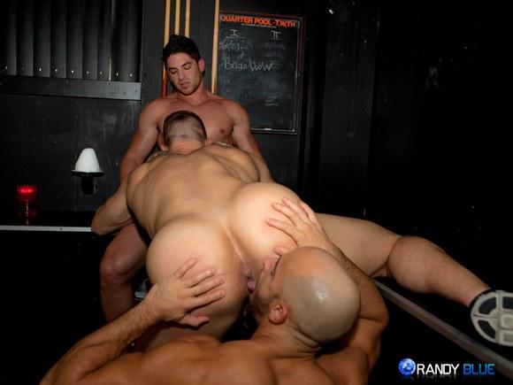 Randy Gay Trio Fucking