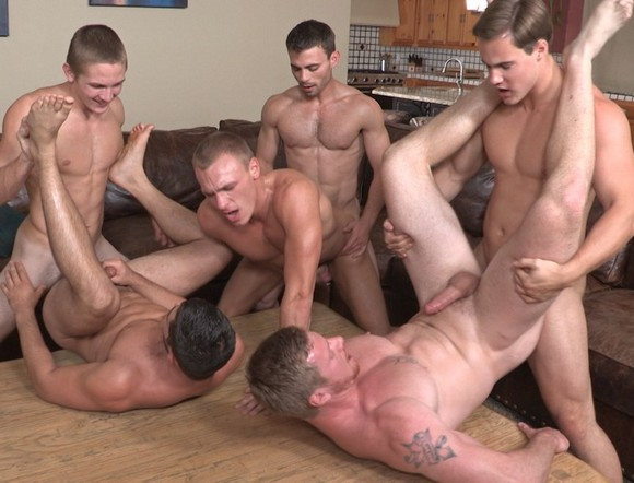 Swinger orgy video clip