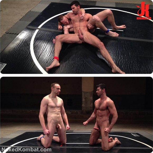 Billy Santoro Jimmy Bullet Naked Kombat