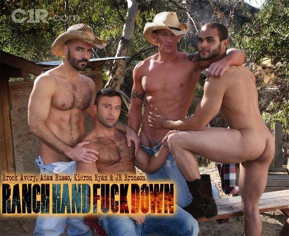 Brock Avery Adam Russo Kieron Ryan JR Bronson Ranch Hand Fuck Down