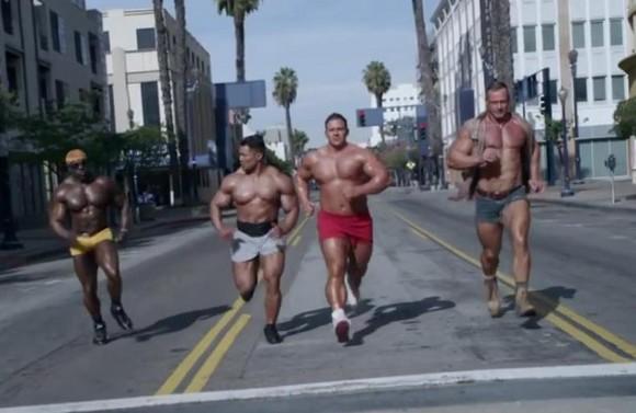 Chris Wide Vince Ferelli Gay Porn Stars GoDaddy Bodybuilder Super Bowl 1