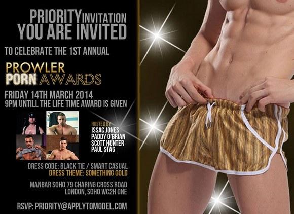 Prowler Gay Porn Awards 2014