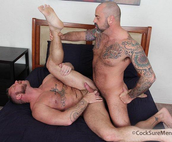 Scotty Rage Charlie Harding Barebacks Cocksure Men
