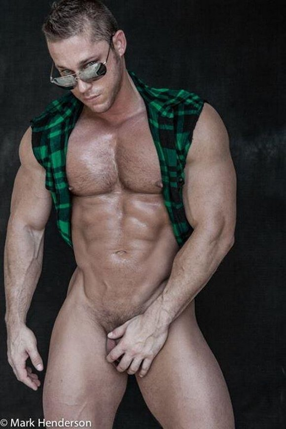 Gay Male Fitness Model Porn
