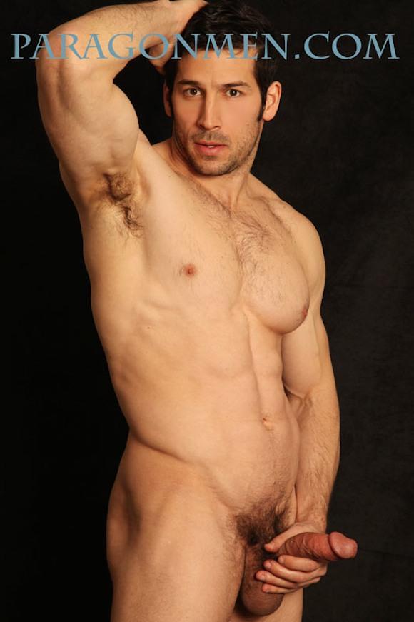 naked blonde gay men