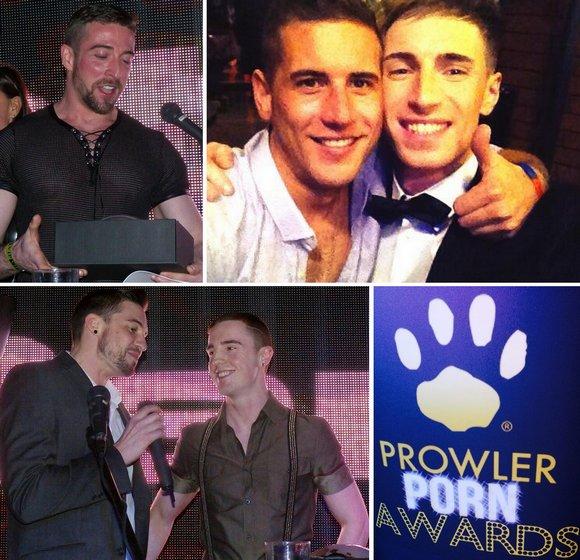 Scott Hunter Dan Broughton Kayden Gray Sam Barclay JP Dubois Gay Porn Stars Prowler Porn Awards