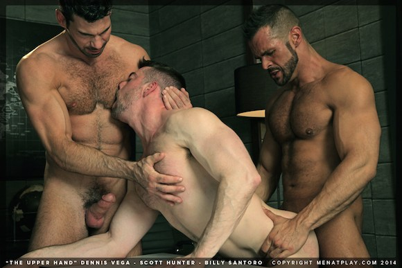 Denis Vega Billy Santoro Scott Hunter Menatplay