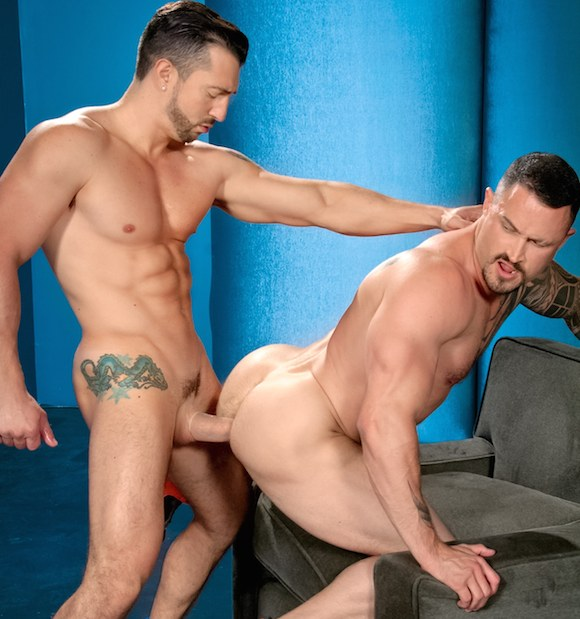 Jimmy Durano Fucks Seven Dixon Man Power Raging Stallion