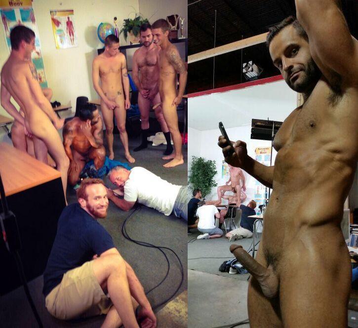 David Benjamin Daddy Chasers Orgy bts