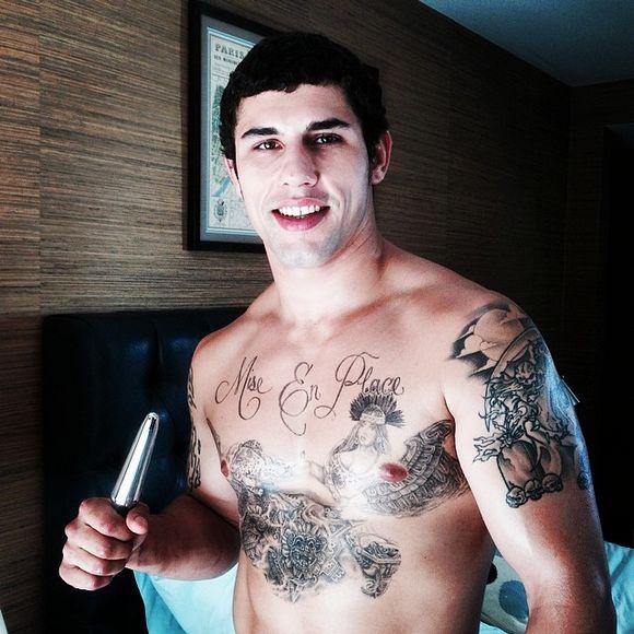 Jimmy Clay Tattoo Gay Porn Star Randy Blue