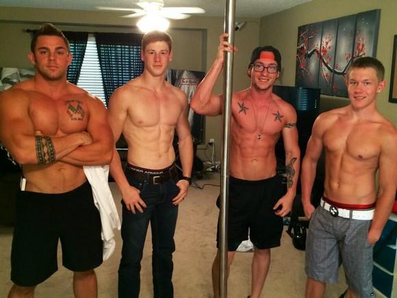 Jonny Cox Raphael Donaghue Brian Steele Jason Keys Porn Stars VoyeurBoys