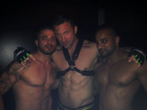 SEX CIRCUS Gay Porn Stars Fabio Lopez Tomas Brand
