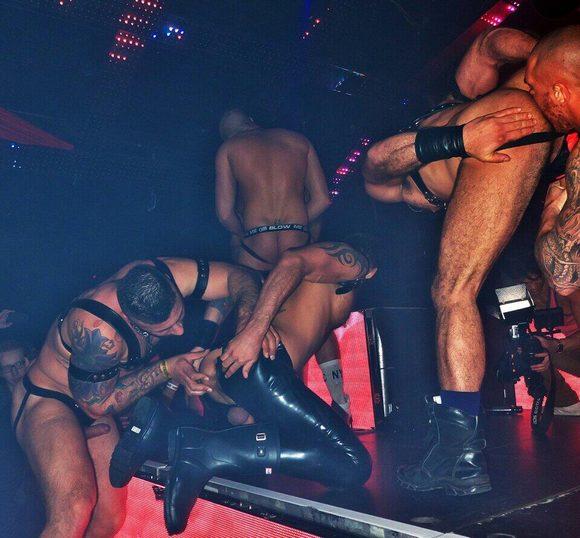 SEX CIRCUS Gay Porn Stars London 19