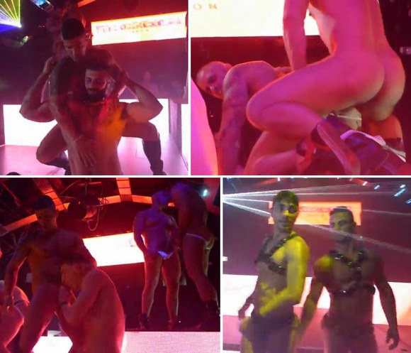 SEXCIRCUS London 2014 Gay Porn Stars Fuck Live On Stage Videos