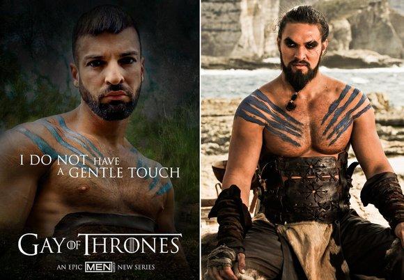 Abraham Al Malek Khal Drogo Gay of Thrones