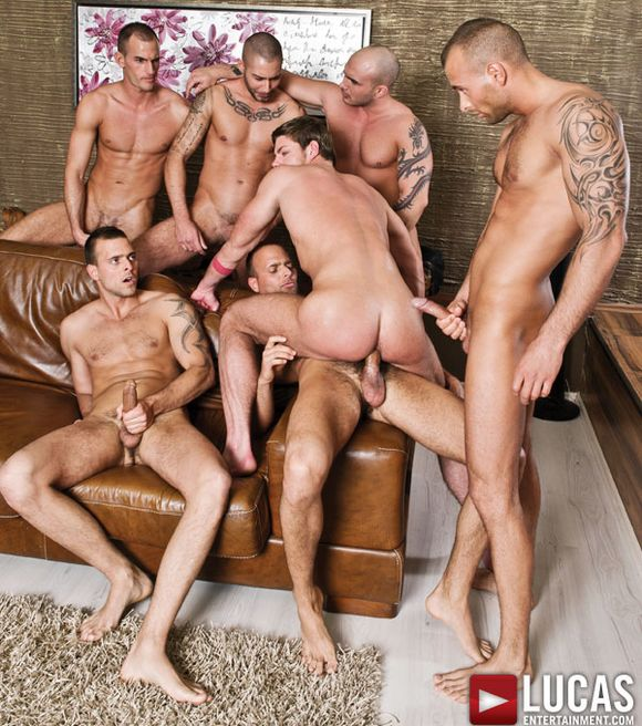 Dutch stars of gangbang