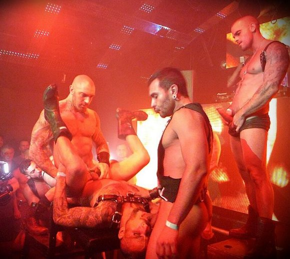 SexCircus Pride 2014 Gay Porn Star Live Sex Show