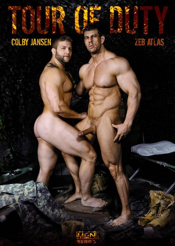 Colby Jansen Zeb Atlas Tour of Duty Gay Porn