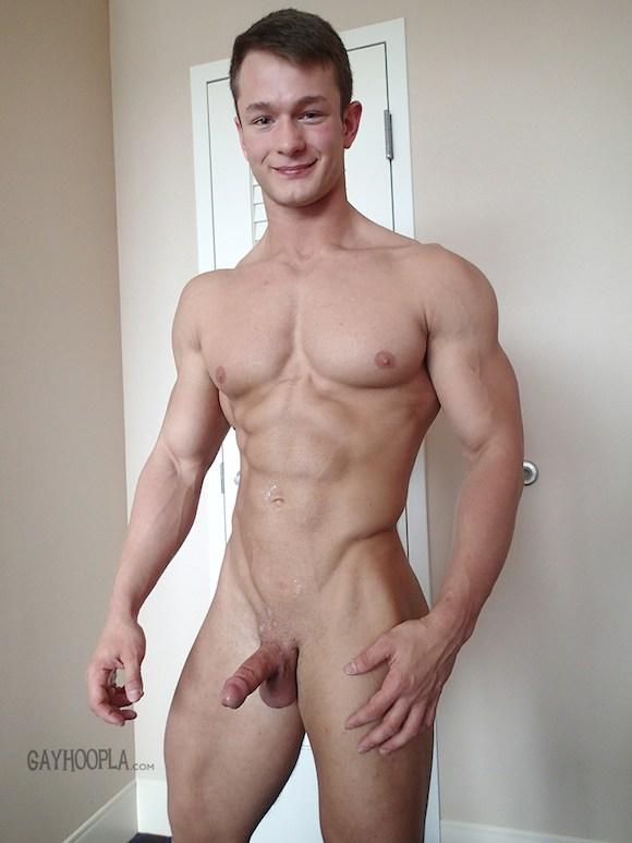 Free gay muscle men jack off