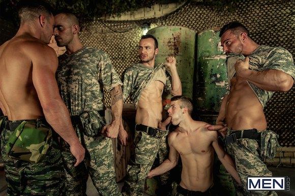 Gays Gangbang 111