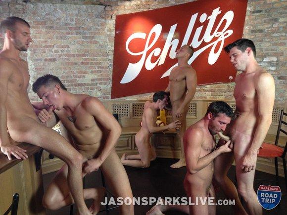 Gay Milwaukee Bareback Orgy Jasonsparkslive
