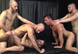 Raw Fuck Club Bareback 5 Orgy