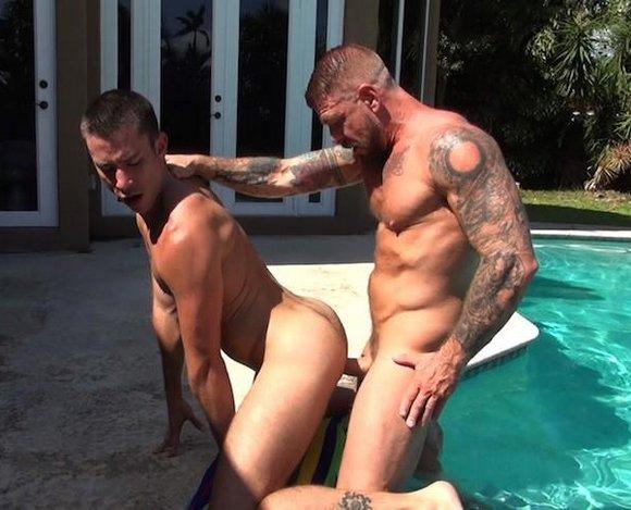 Orgy rocco orgy pool anal Rocco pool anal